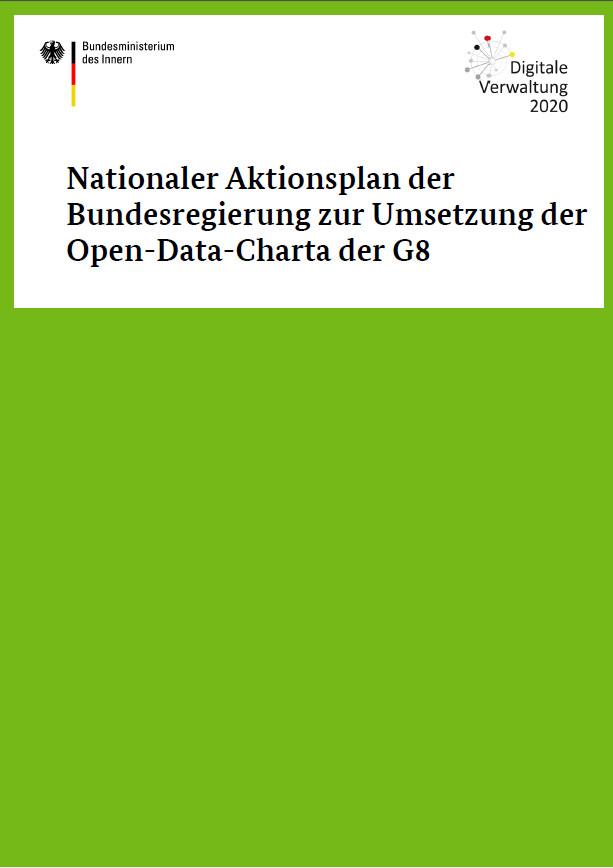 Verwaltung innovativ - Aktionsplan Open Data